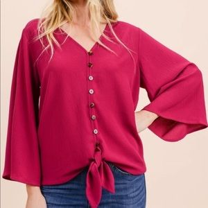 Beautiful Magenta Top